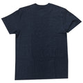 the navy blue villanova t-shirt is heather navy blue