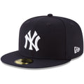 The left side of the 5950 New York Yankees 1952 World Series Fitted Cap has the New Era logo embroidered in white