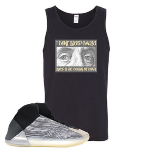 Yeezy Quantum Tank Top | Black, Franklin Eyes