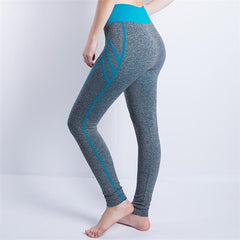 Leggings High Waist Sports Pants Gym Clothes Sexy Running Training Tights Women Sports Leggings Fitness Yoga Pants