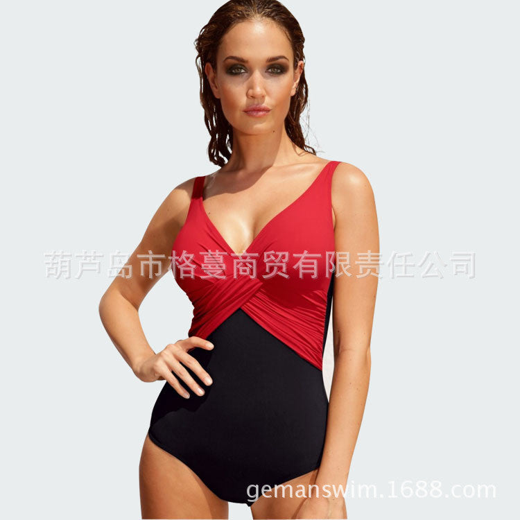 430de4d00ee ... M~5XL Plus Size Swimwear One Piece Swimsuit Women 2016 Hot Sale Swim  Suit Bodysuit