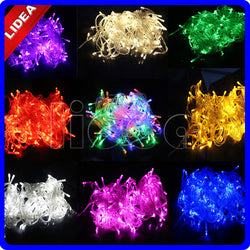 10M 100 LED 9 Colors Wedding New Year Xmas Navidad Garland LED Christmas Decoration Cord Outdoor Fairy String Light CN C-22