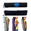 Image of 68 * 15cm Canvas Practical Yoga Pilates Mat Carry Strap Drawstring  Bag Sport Exercise Gym Fitness Backpack for 6mm Yoga Mat