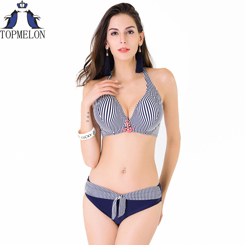 plus size swimwear bikini swimsuit large push up swimsuit  women Swimwear Bikini Set  bathing suit Lady  swimsuit swimming suit