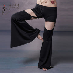 Dancewear Belly Dance Pants Satin Pants Professional Belly Dance Trousers Yoga Pants Dancing For Women Tribal Pants - Bohemian Gift Stores