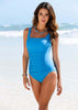 Image of NAKIAEOI 2017 New One Piece Swimsuit Women Plus Size Swimwear Large Size Vintage Retro Padded Beach Bathing Suits Swim Wear 4XL