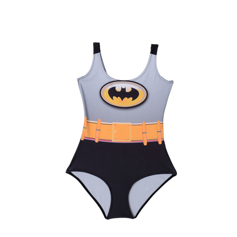 BATMAN Bodysuit SWIMSUIT Digital Printing Swimwear Hot Black Sexy Wetsuit - Bohemian Gift Stores