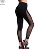 Image of B.BANG Women Yoga Pants Mesh Patchwork Pencil Pants Elasticity Slim Jeggings Ladies Leggins Pantalon Stretch Femme