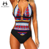 2017 Sexy Lady Monokini Brazilian Tanga Halter Beachwear Bathing Suit Large Plus Size Push Up Swimwear Women One Piece Swimsuit