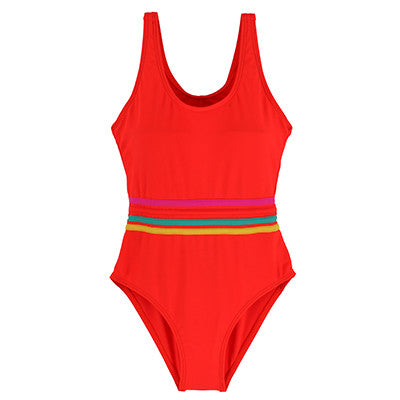 Andzhelika Girls' Swimwear One Piece Swimsuit Girls Solid Swimwear Sports Bodysuit Beachwear Children Swim Suits Bathing Suit