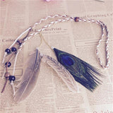 Feather Headband Women 2017 Festival Feather Headband Hippie Headdress Hair Accessories Boho Peacock Feather Headdress