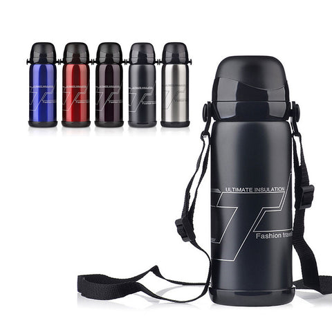 5 Color Stainless Steel Insulated Thermos Bottle 800ml Thermo Vacuum Flask Thermoses Thermal Coffee Garrafa Termica Sport Termos