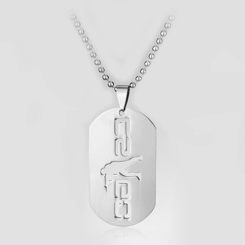 1PC Stainless Steel Cs Go Necklace Counter Strike Dog Tag Pendant Neckless Collier Jewelry Game Theme Cs Go