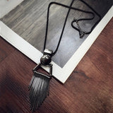 2016 New Arrival Women Pendant Necklaces Fashion All-match Long Necklace Exaggerated Personality Sweater Chain