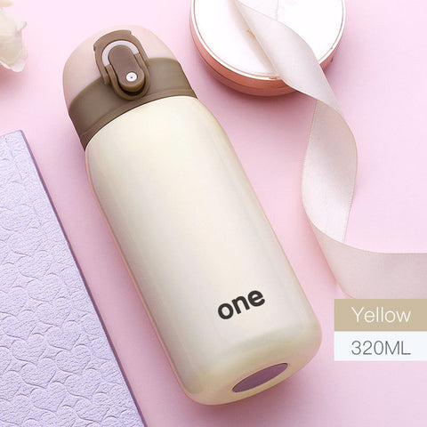 Hot child Thermo Mug Vacuum Cup Stainless Steel thermos Bottle baby Thermal Bottle for water Insulated Coffee Tumbler For Car