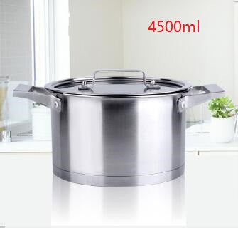 free shipping casserole high quality stainless steel saucepan cooking pan milk pot utensil