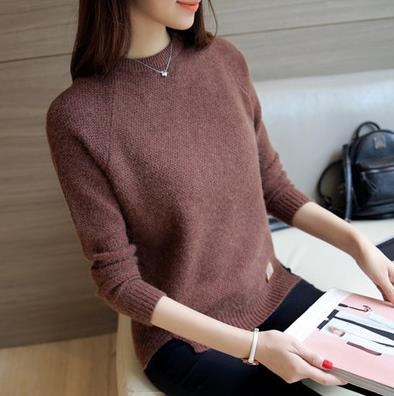 Wool cashmere blend Women Sweaters And Pullovers 2018 Autumn Winter Knitwear jersey jumper top pull femme hiver knitted sweater