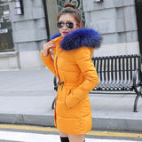 Winter jacket women 2018 New warm Autumn Fashion Women coat thick hoody winter coat slim women parka warm womens Down jacket