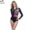 Image of one piece swimsuit long sleeve biquini brasileiro swimwear women sexy one piece swimwear one piece bathing suits for women