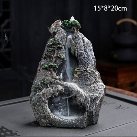 Backflow Incense Holder Waterfall