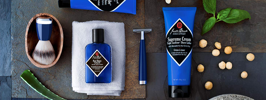 Jack Black men's grooming