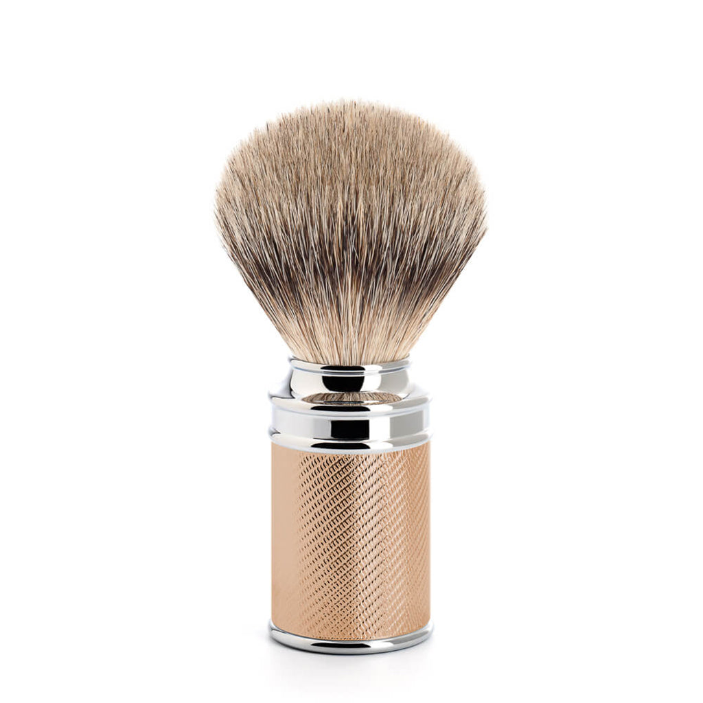 Rose Gold Silvertip Badger Shaving Brush