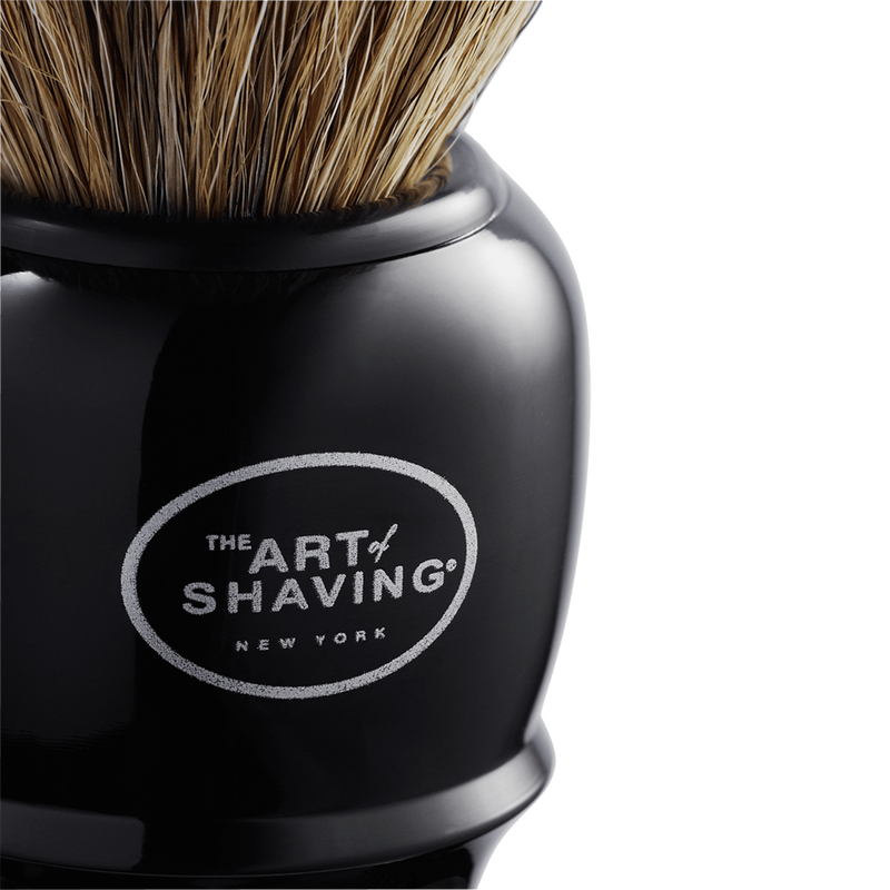 Genuine Black Shaving Brush
