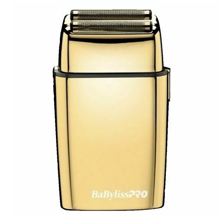 Cordless Metal Double Foil Gold Shaver