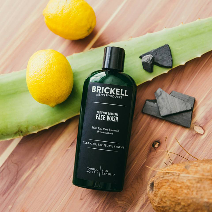 Purifying Charcoal Face Wash for Men