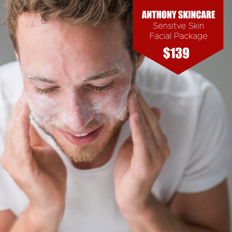 Anthony Sensitive Skin Facial Package