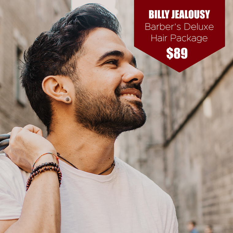 Billy Jealousy Barber's Deluxe Hair Package