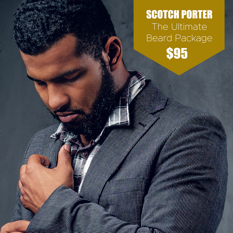 Scotch Porter Ultimate Beard Package