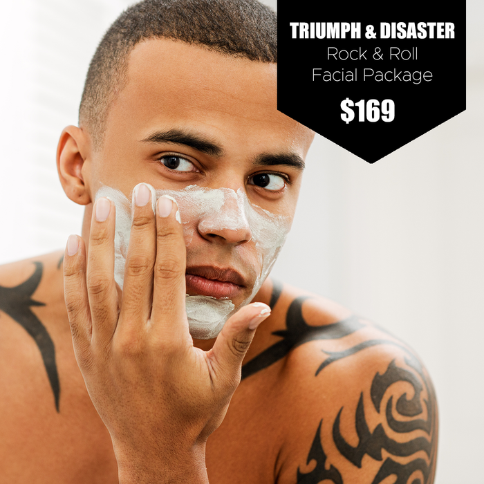 Triumph & Disaster Rock & Roll Facial Package