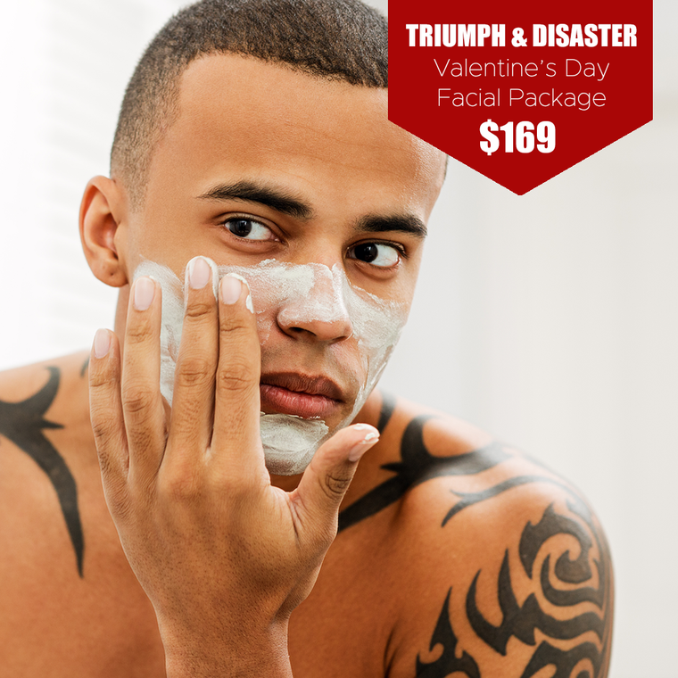 Triumph & Disaster Valentine's Day Facial Package