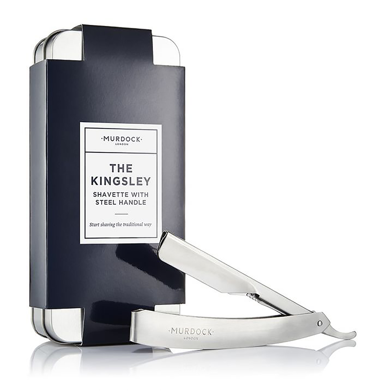 Kingsley Stainless Steel Straight Razor