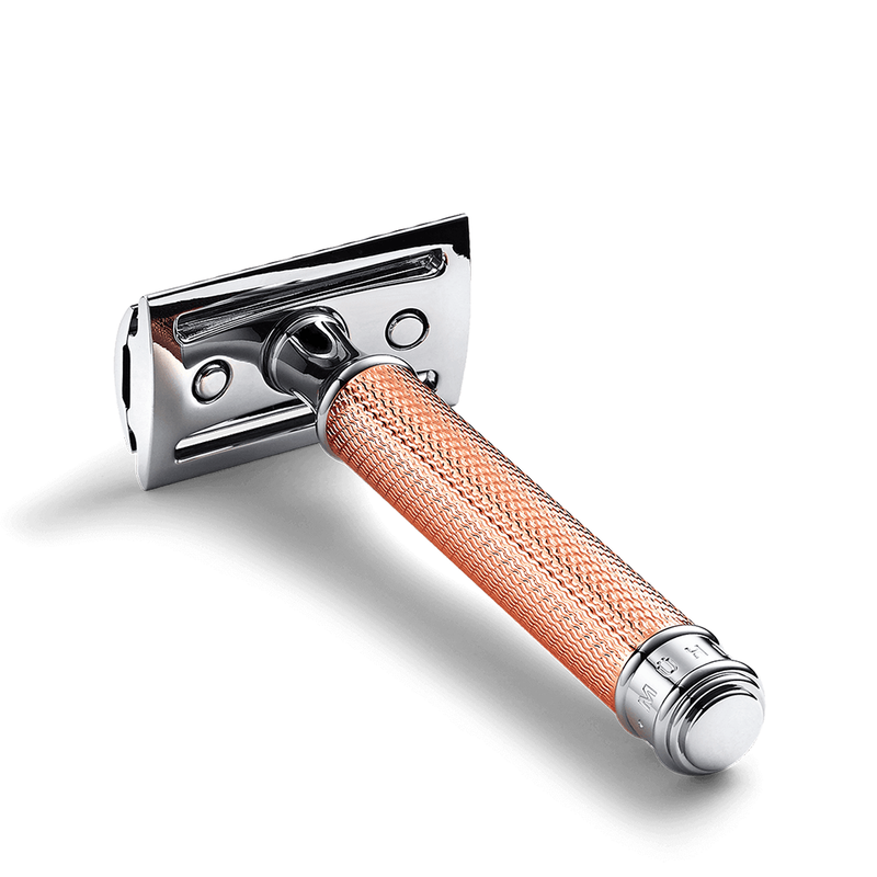 Rose Gold Safety Razor Set