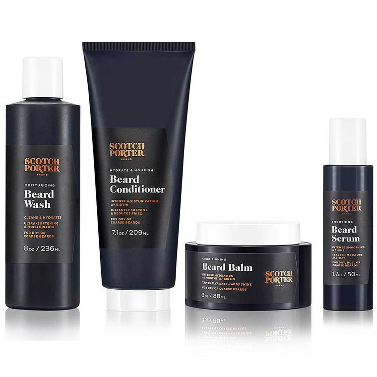 Scotch Porter Complete Beard Care Set