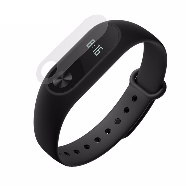 High Quality Scratch Proof Screen Protectors For Xiaomi Mi Band  (2 included)
