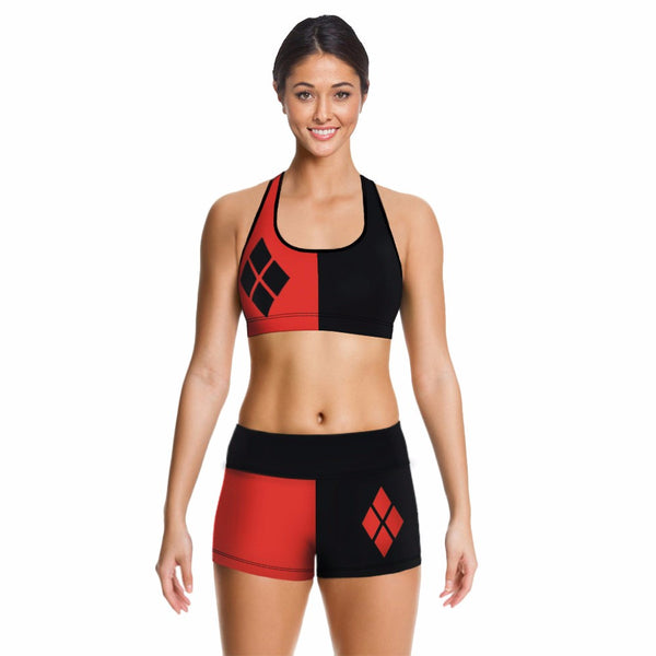 Harley Quinn Crop Top Only (set 1-2)