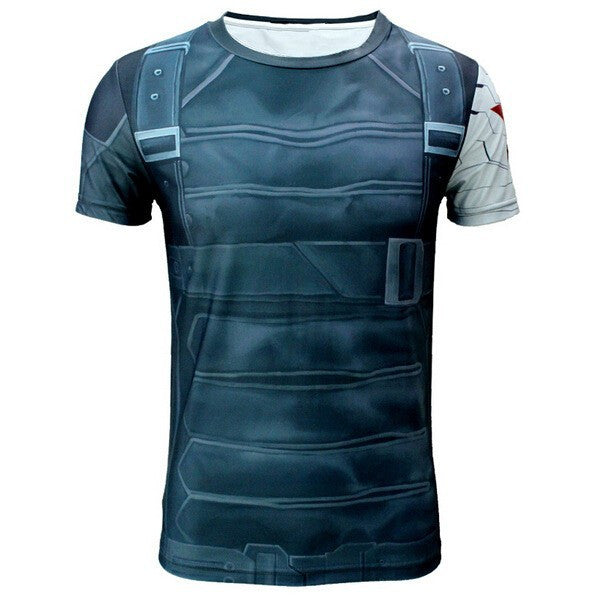 Bucky Inspired Compression Shirt