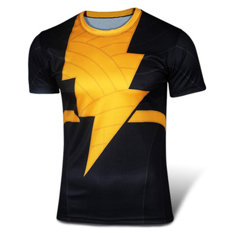 Black Flash Inspired Compression Shirt