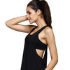 Summer Fitness Loose Tank Tops