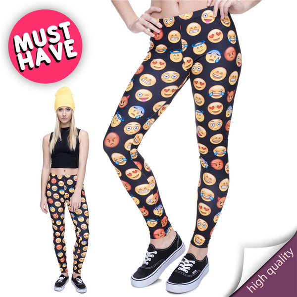 Must Have Emoji Leggings