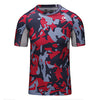 Camouflage Compression Workout Shirts