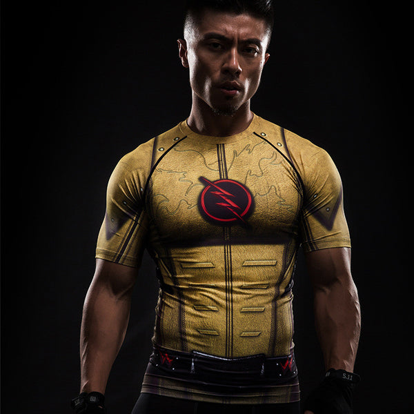 The Flash Inspired Workout Shirt