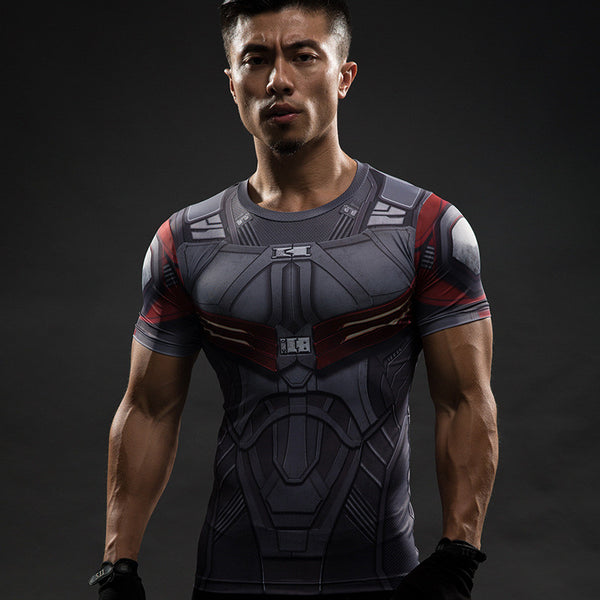 Super Hero Inspired Workout Shirt