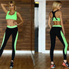 Eye Catching Yoga Set (Sport's Bra + Leggings)  2Pcs