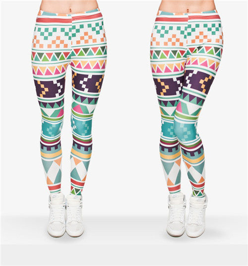 3D Wild Art Leggings