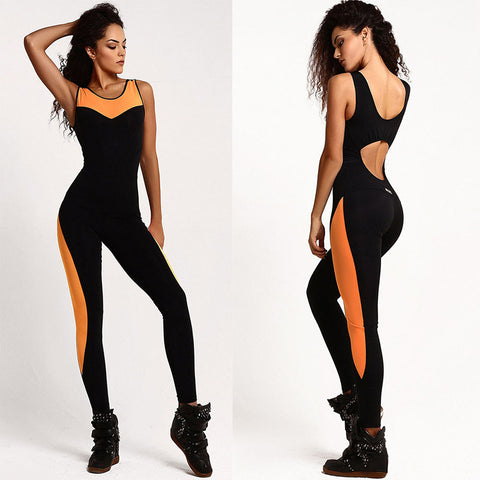Backless Form Fitting Bodysuit