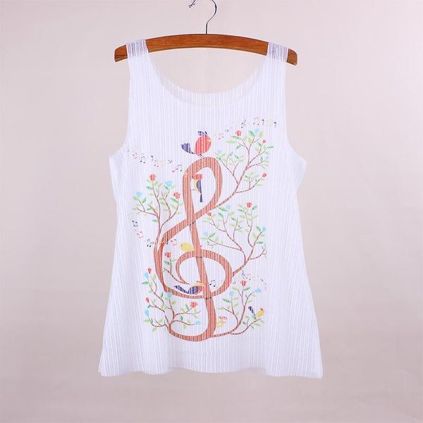 Treble Clef Tank Top